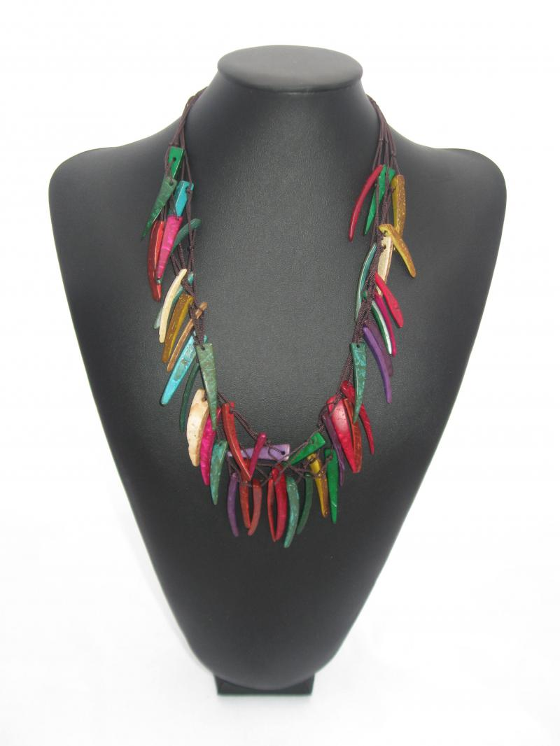 Brightly Coloured Necklace