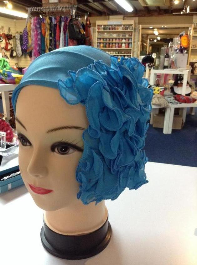 Beautiful single coloured Ruffle Headbands