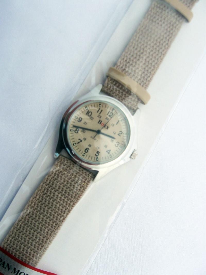 Watch from the Boxx Collection with Sandstone colour Strap and Face