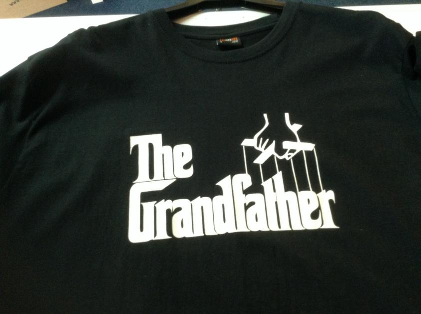T-shirt with Grandfather
