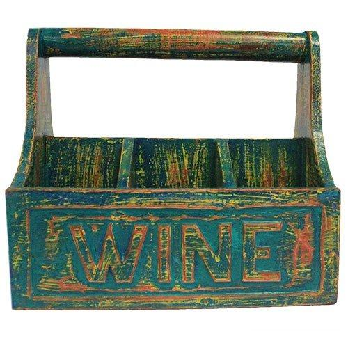 Mint Antique - Wine Bottle Holder 30x20x27 cm