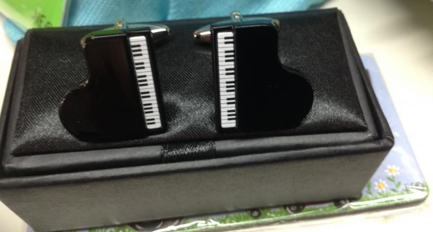 Piano Design Cuff Links