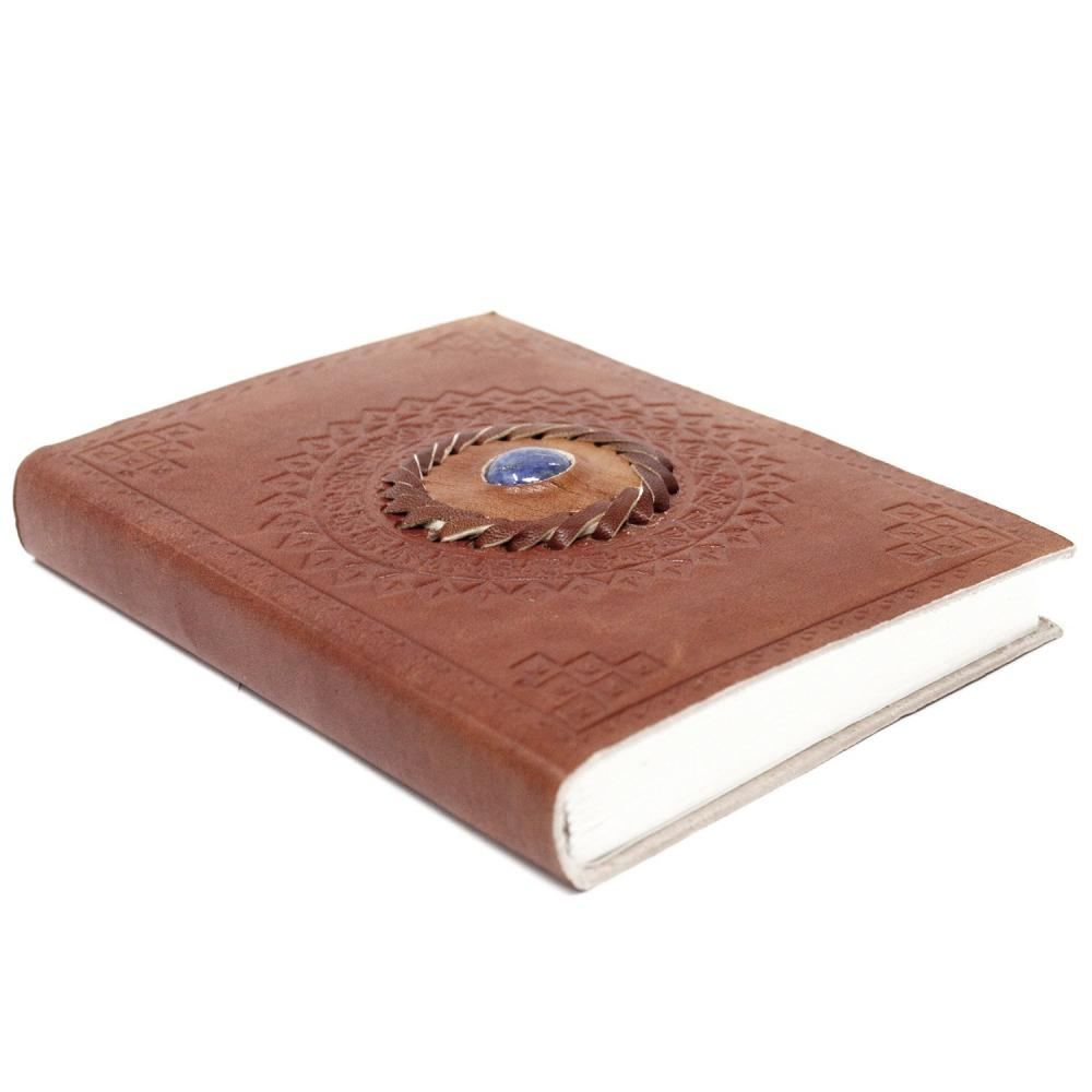 Leather Lapis Notebook (7x5
