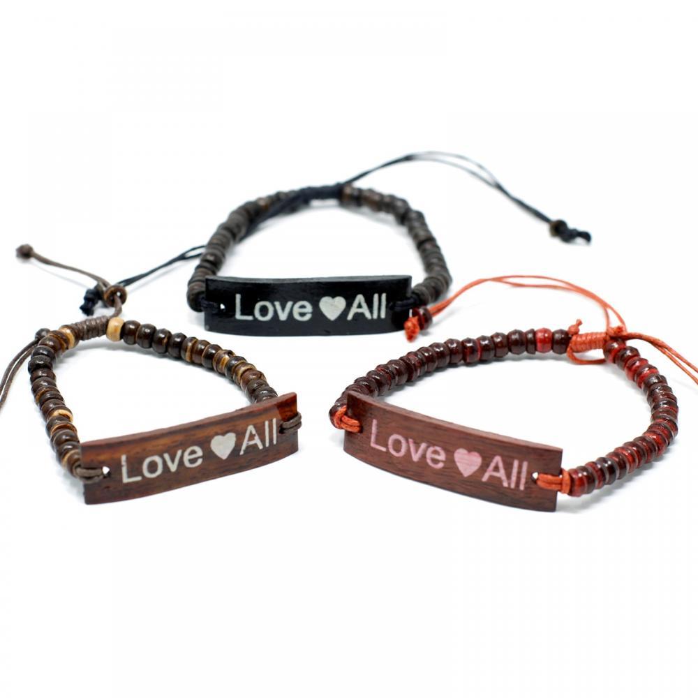 Coco Slogan Bracelets - LoveAll