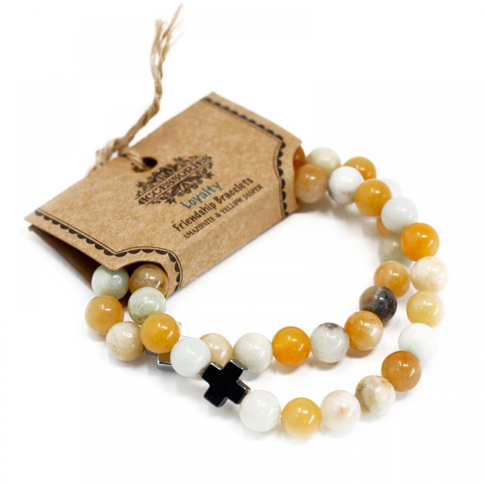 Gemstones Friendship Bracelets - Loyalty