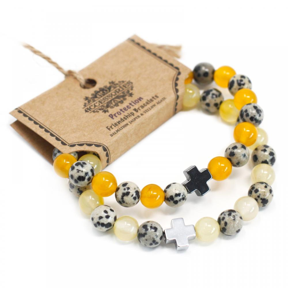 Gemstones Friendship Bracelets - Protection