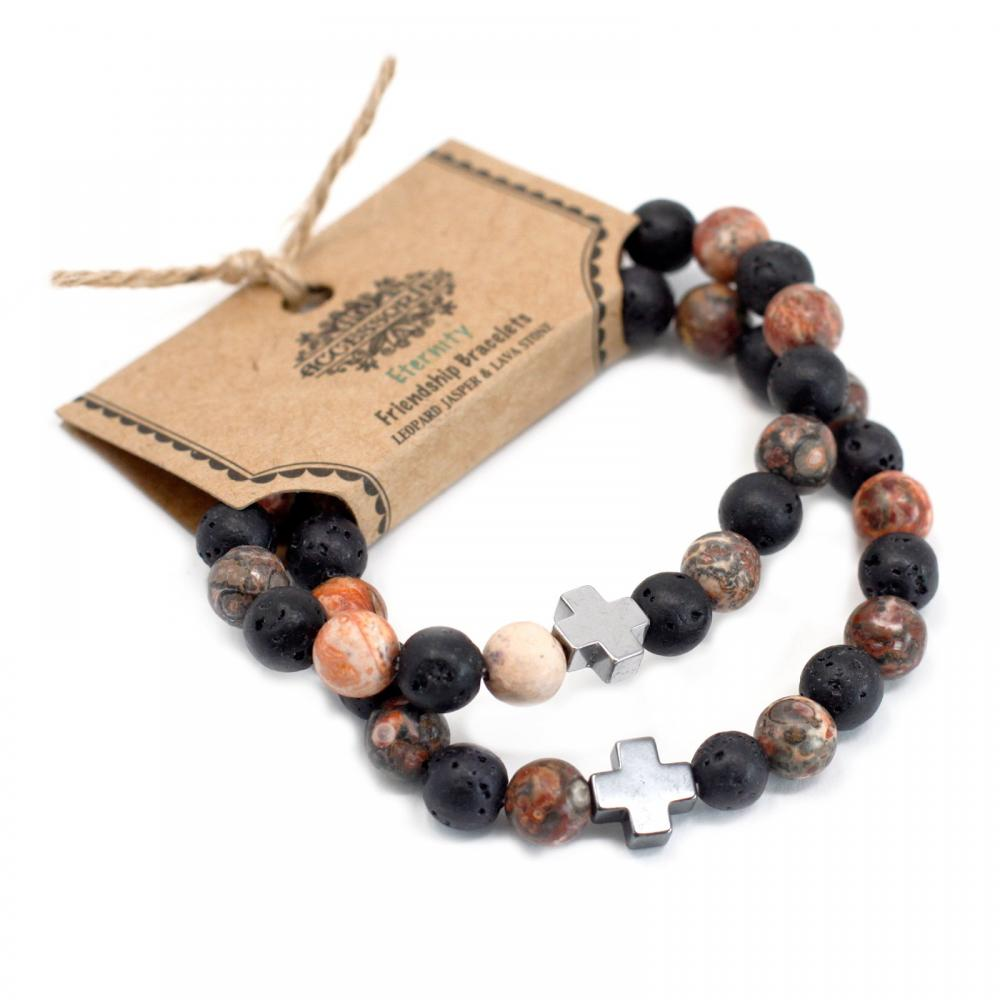 Gemstone Friendship Bracelets - Eternity