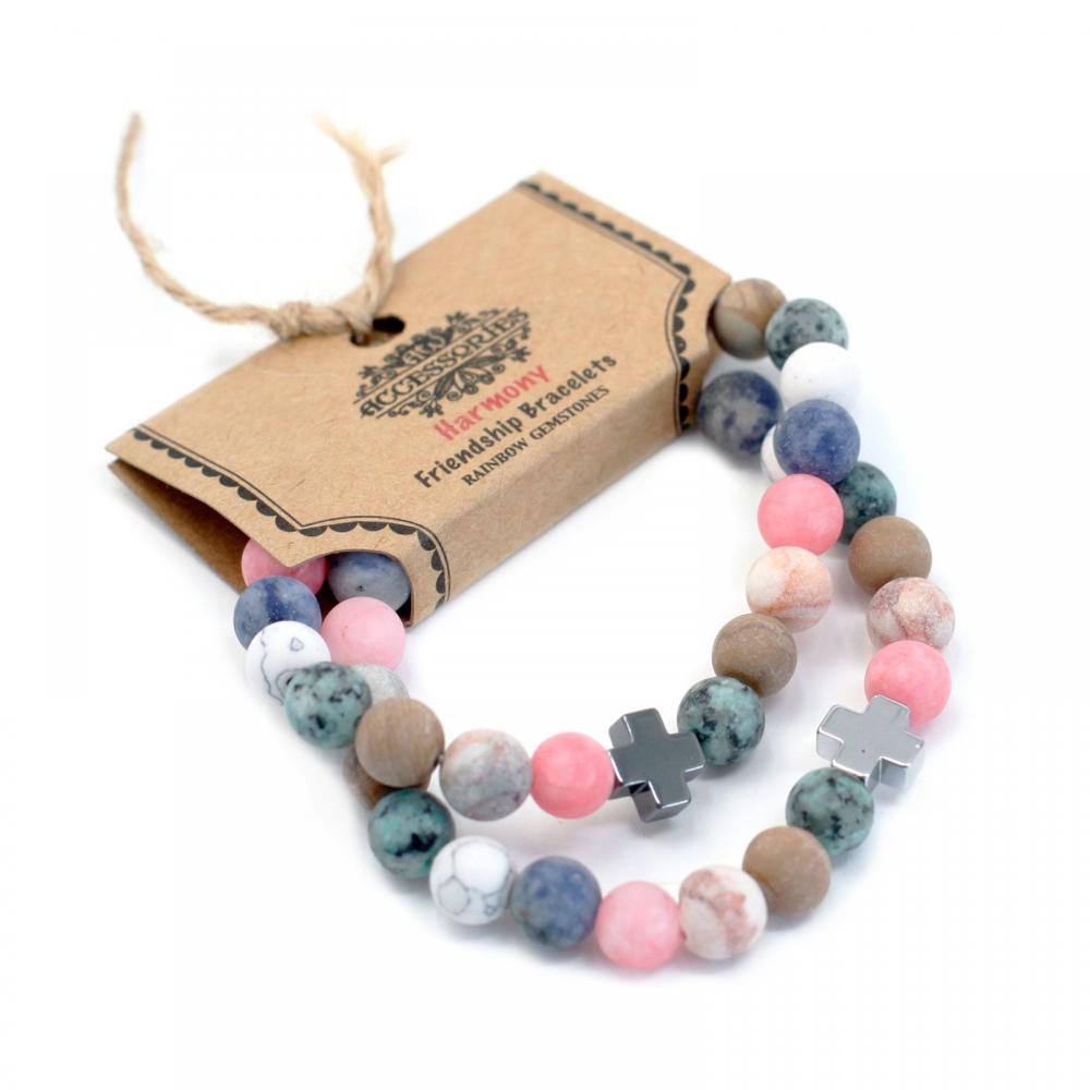 Gemstones Friendship Bracelets - Harmony