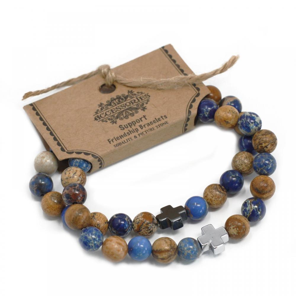 Gemstones Friendship Bracelets - Support