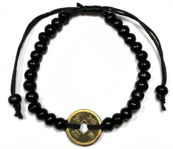 Good Luck Feng-Shui Bracelets - Black