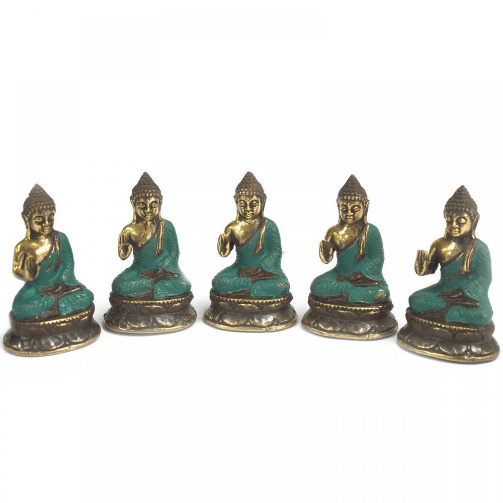 Mini Hand Up Sitting Buddha