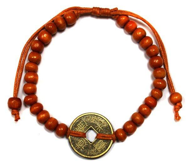 Good Luck Feng-Shui Bracelets - Orange