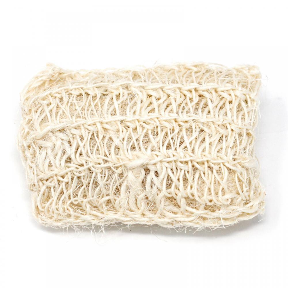 Sisal Sponge and Scrub - Soft Exfoliating Cushion