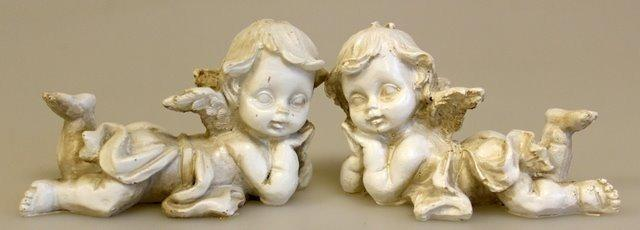 Vintage Cherubs - Set of 2 - Lounging