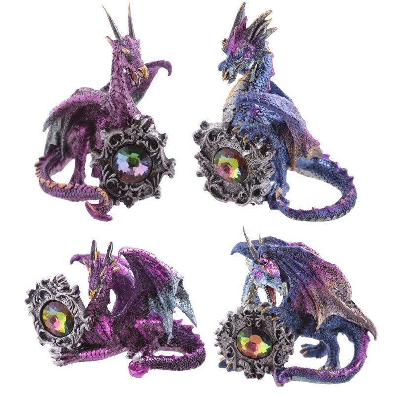 Dark Legends Gemstone Frame Dragon