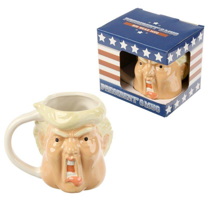 President Shaped Head Mug