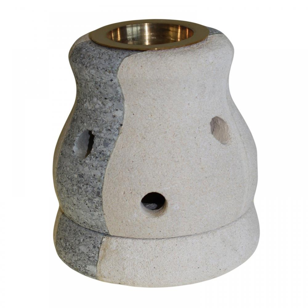 Stone Oil Burner - Combo Shaped