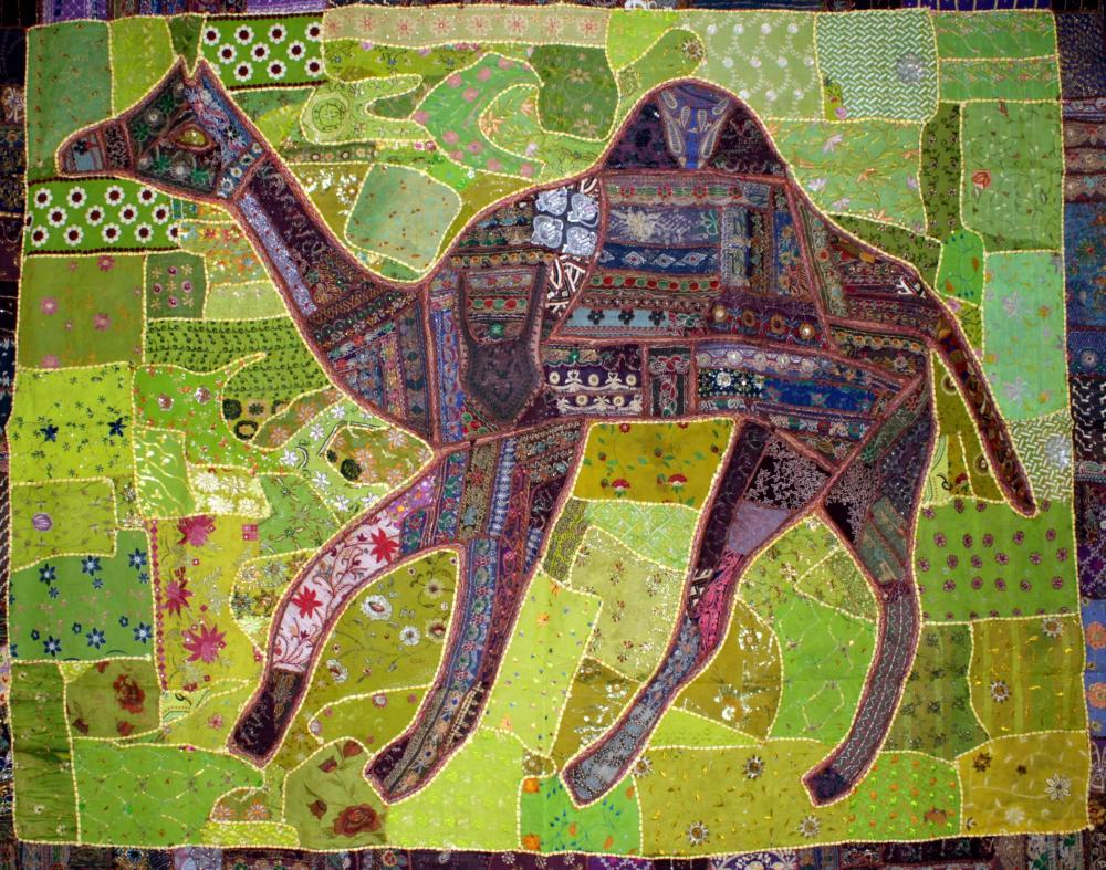 Large Ethnic Camel Hanging -190 x 240 cm