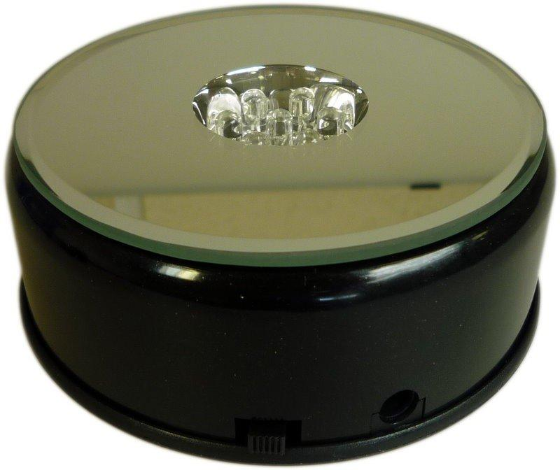 LED Light Block - Rotating Coloured 9.6cm