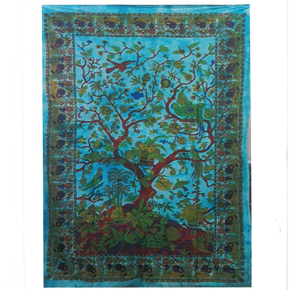 Cotton Wall Art - Tree of Life - Classic