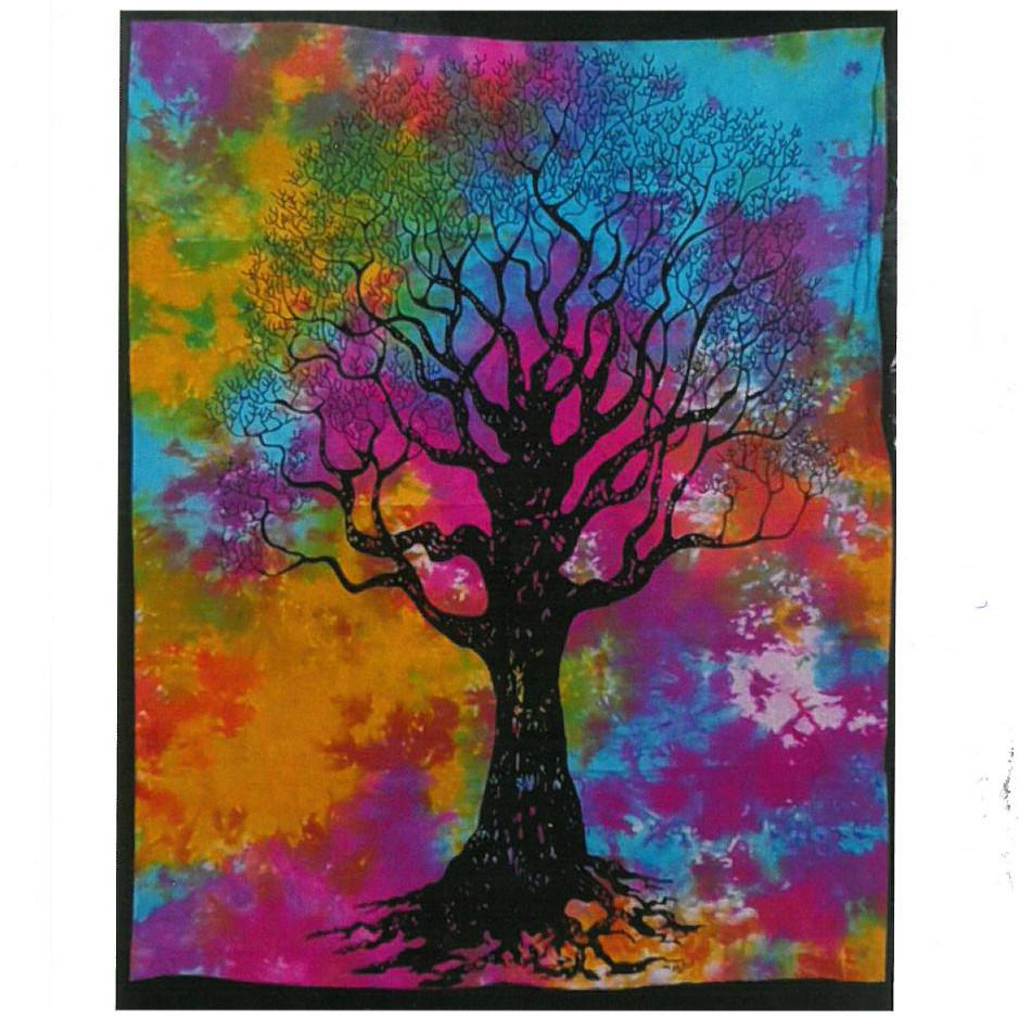 Cotton Wall Art - Tree of Strength