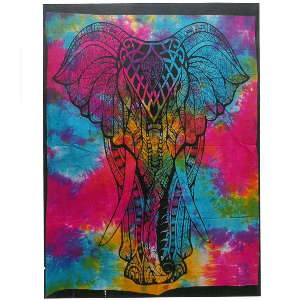 Cotton Wall Art - Elephant