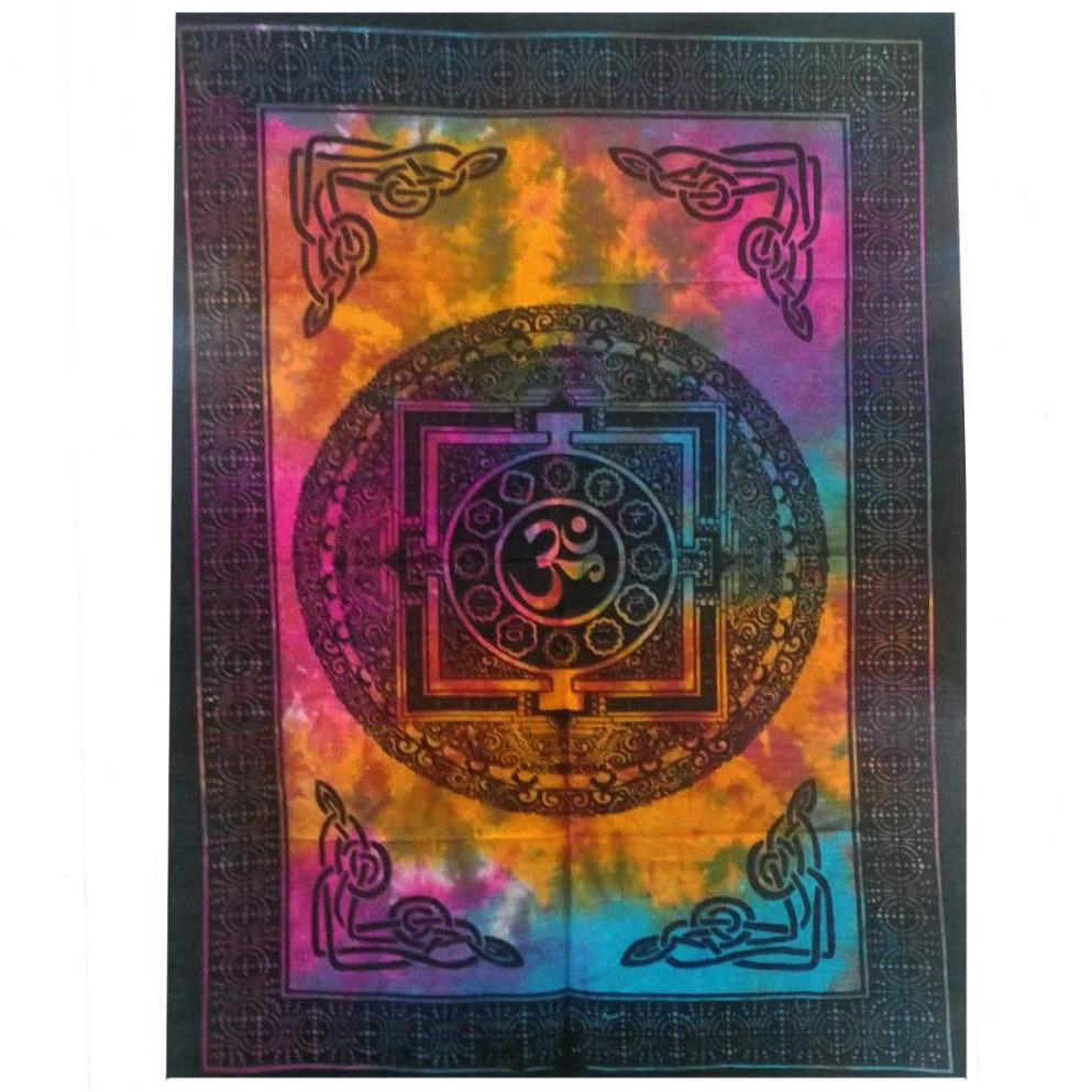 Cotton Wall Art - Sacred OM