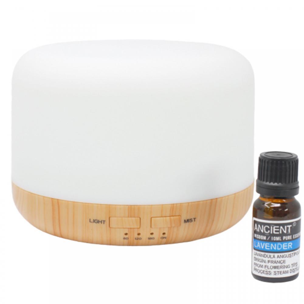 Aroma Diffuser & Lavender Oil Gift Set
