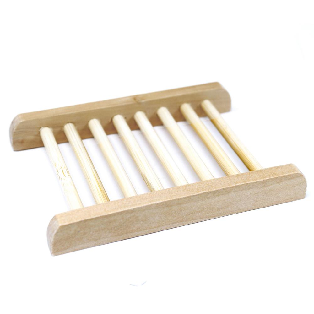 Hemu Wood Soap Dish - Ladder
