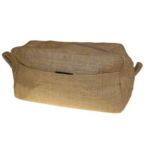 Jute Toiletry Bag - Natural