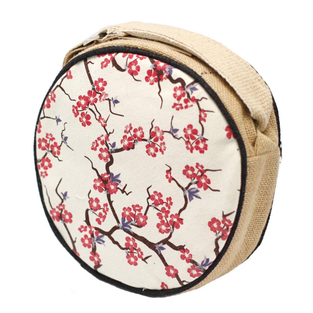 Eco Round Bags - Cherry Blossom