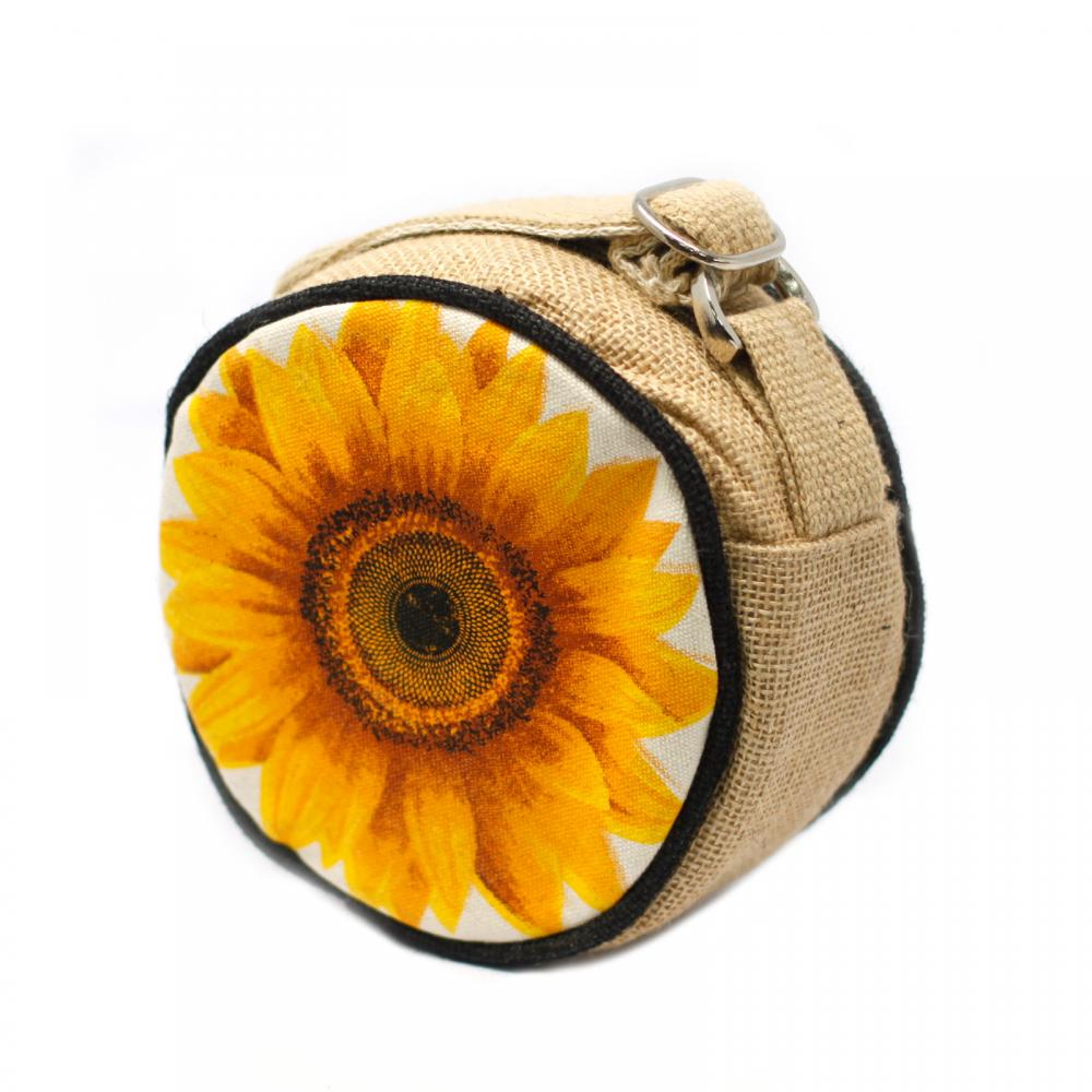 Eco Round Bag - Small - Sunflower