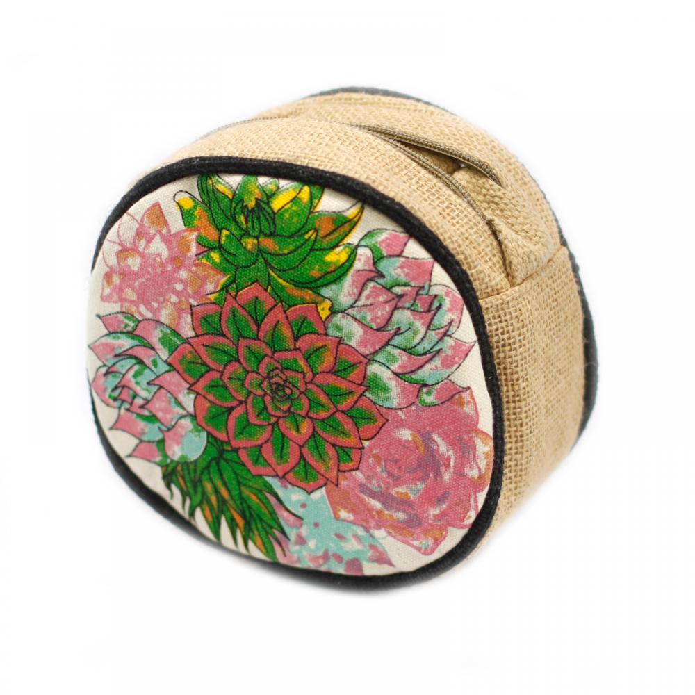 Eco Round Bag - Small - Cactus