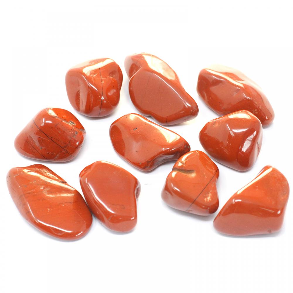 Extra Large Tumble Stones - Red Jasper