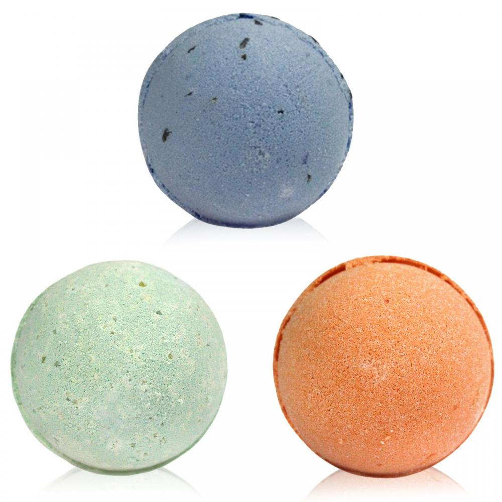 Three Bath Bomb Set