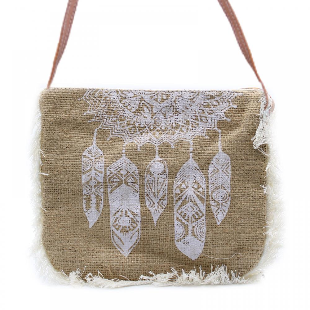 Fab Fringe Bag - Dream Catcher Print