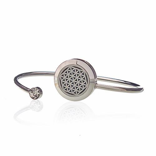 Aromatherapy Jewellery Crystal Bracelet - Flower of Life - 20mm