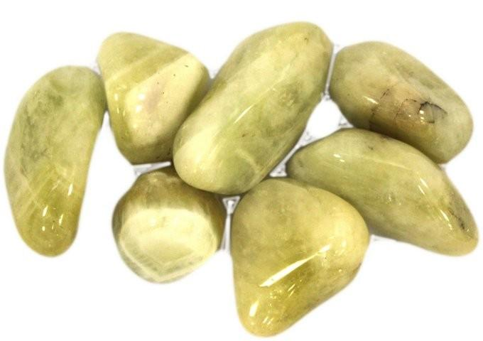 Large Tumble Stones - Prasiolite