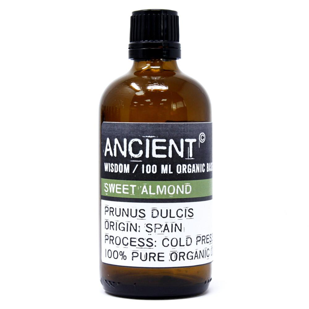 Sweet Almond Organic Base Oil - 100ml