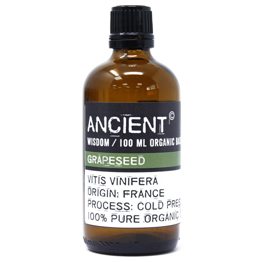 Grapeseed Organic Base Oil - 100ml