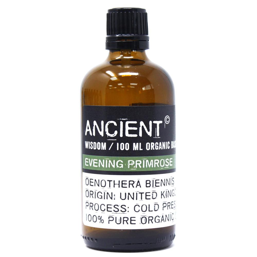 Evening Primrose Organic Base Oil - 100ml
