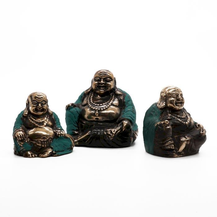 Set of 3 - Happy Buddha's (asst sizes)