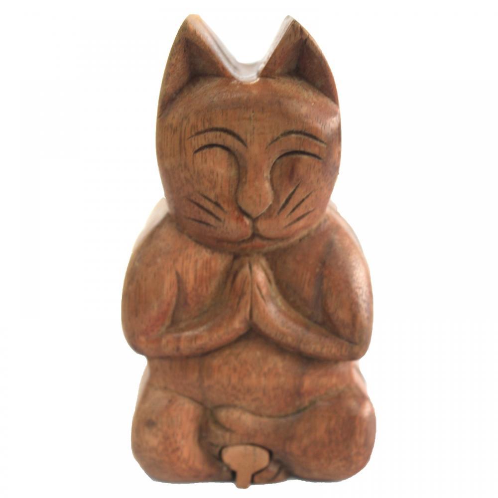Bali Magic Box - Yoga Cat
