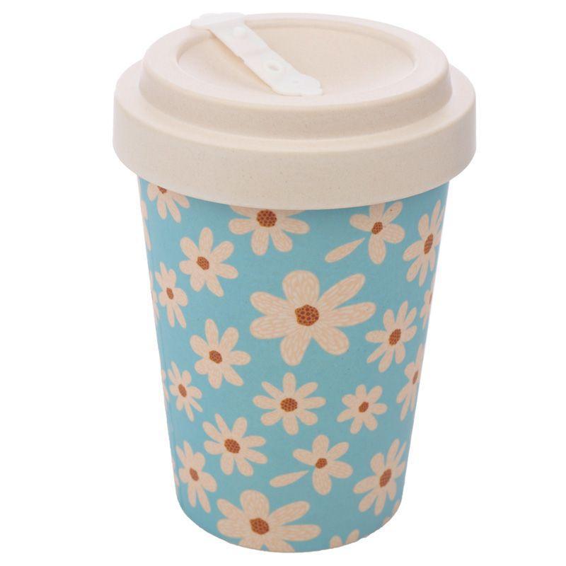 Oopsie Daisy Reusable Screw Top Bamboo Composite Travel Mug
