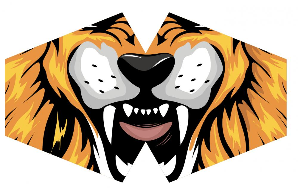Reusable Fashion Face Mask - Tiger (Children)