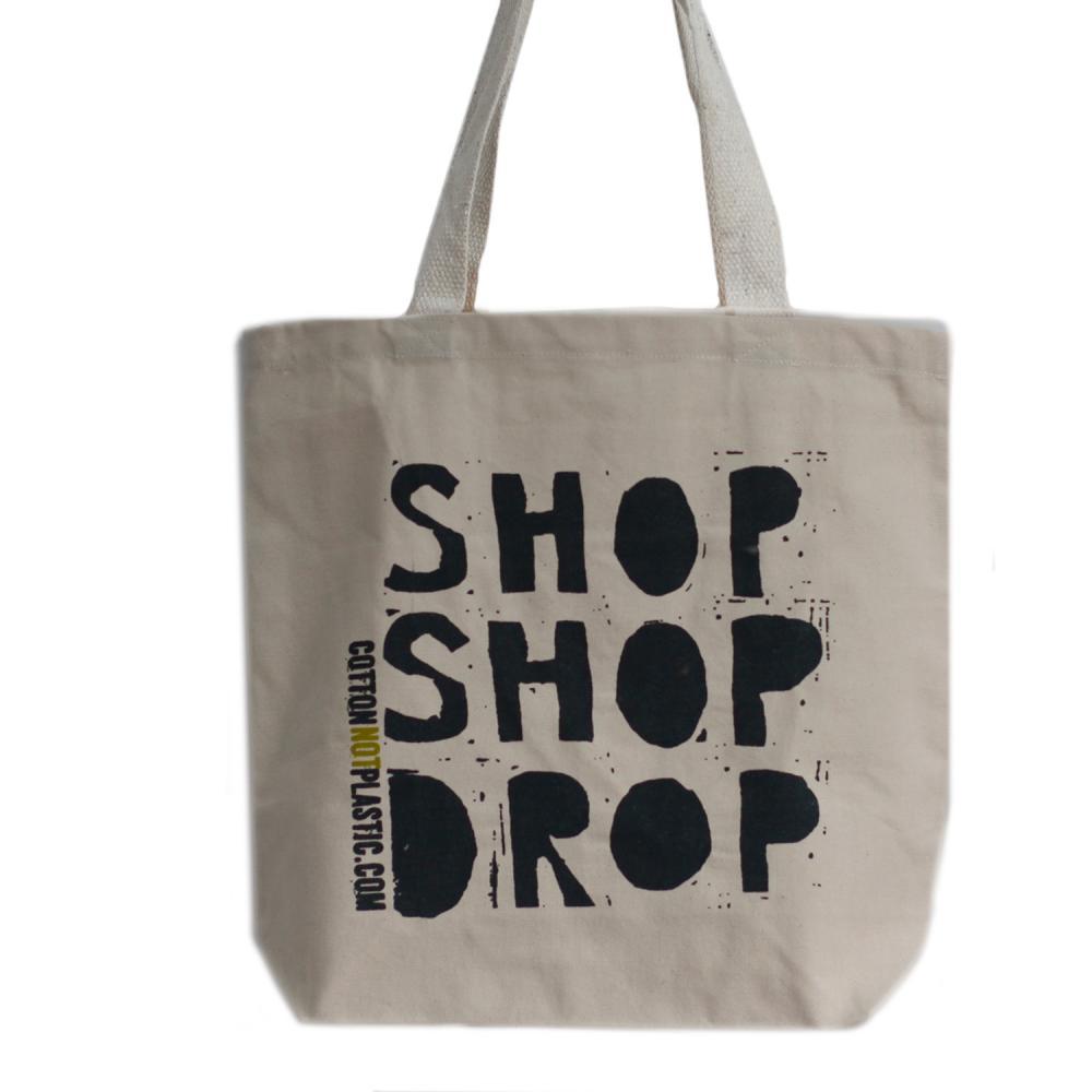 Shop Shop Drop - choice of 4 colours