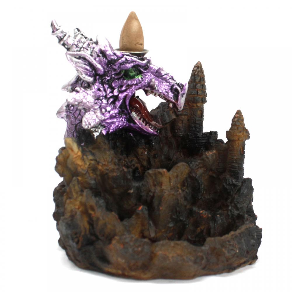 Purple Dragon LED Backflow Incense Burner
