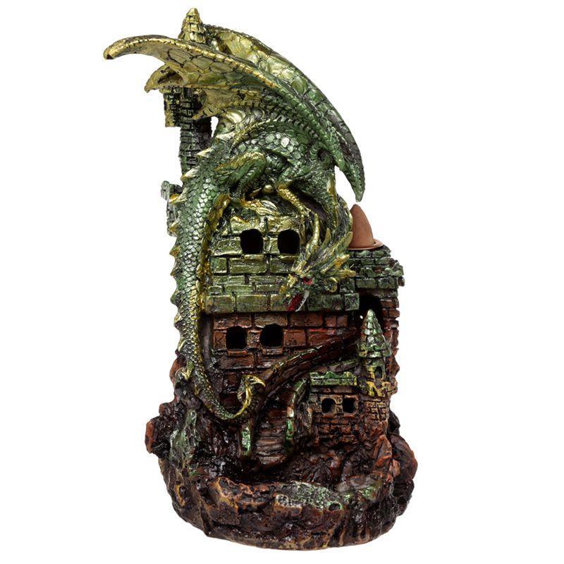 Dragon Castle LED Backflow Incense Burner