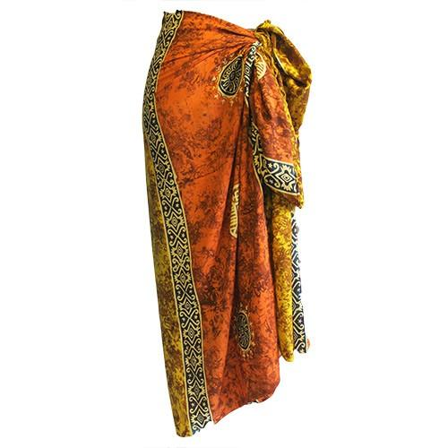 Bali Celtic Sarongs - Lucky Coins (4 Assorted Colours)