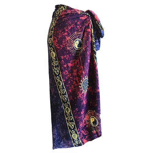 Bali Celtic Sarongs - Yin & Yang (4 Assorted Colours)